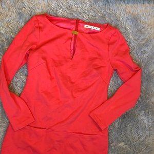 Trina Turk Dresses - Trina Turk Coral Long Sleeve Dress